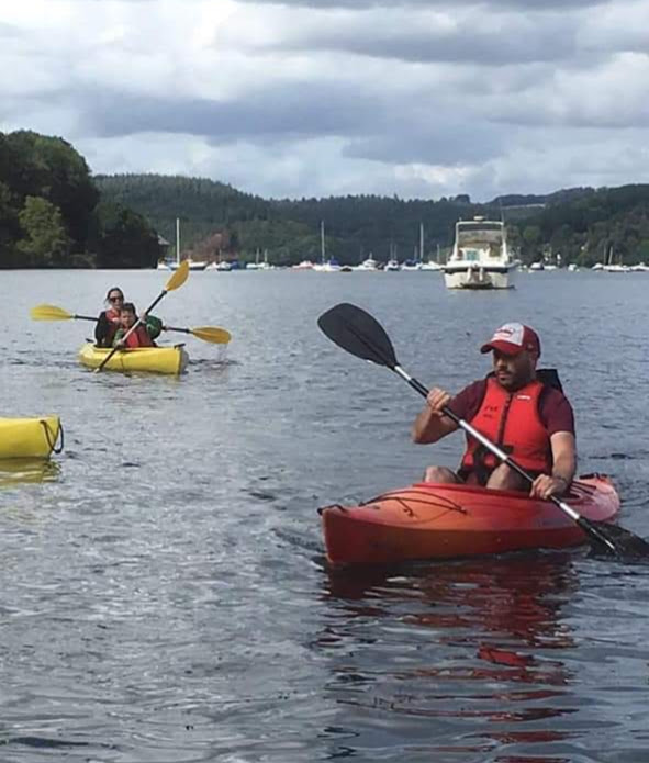 Kayaking with Fowey River Hire