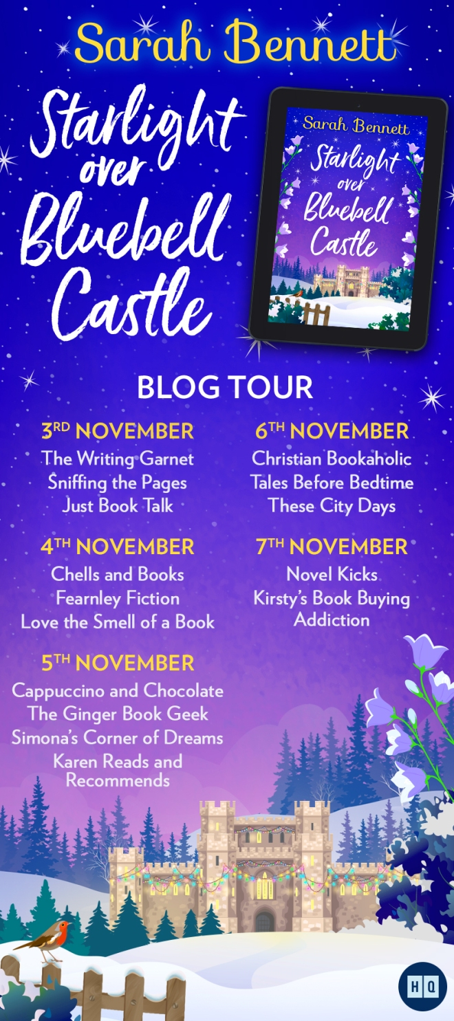 Starlight Over Bluebell Castle Blog Tour Banner